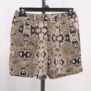 Worthington modern fit snake skin print shorts 6